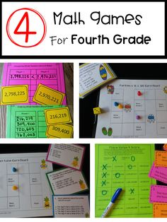 Your students will LOVE playing these games in math centers, cooperative groups, or even at home for extra practice.  Skills include comparing numbers, place value, written form, and patterns of tens and hundreds. Best Math Apps, Math Websites, Comparing Numbers, Math Games For Kids, Fourth Grade Math, Love Math, Cooperative Learning, Math Workshop, Guided Math