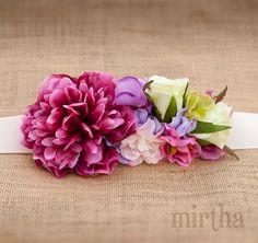 Cinturón de flores Jardín