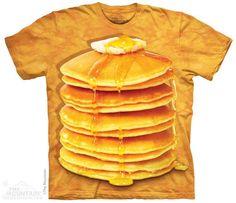 The Mountain - Big Stack Pancakes T-Shirt, $20.00 (http://shop.themountain.me/big-stack-pancakes-t-shirt/)