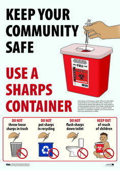 1000 Images About Safe Sharps Disposal On Pinterest Be