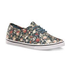 floral VANS shoes $55