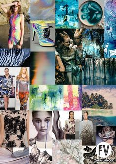 FASHION VIGNETTE: [ TREND REPORT ] FUTURISTIC NATURE by Zara Lancod