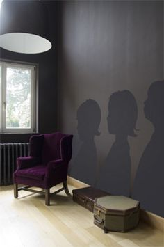 Silhouettes. Love this!