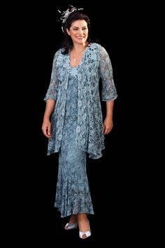 Evening dress for the fuller figure - Google Search
