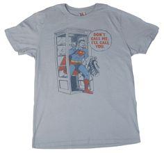 Superman I'll Call You T-Shirt Front