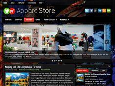 ApparelStore Free WordPress Theme
