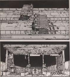 Katsuhiro Otomo.     Akira Panel.