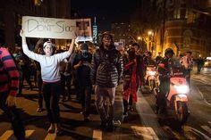Protests erupt across US following Ferguson grand jury decision: http://yhoo.it/15kbGon