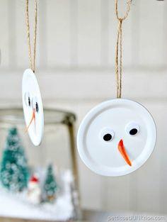 Snowman Handmade Christmas Ornament Is The Tops