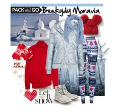 """Pack'n'go: Beskydy, Moravia"" by giovanina-001 ❤ liked on Polyvore featuring Gap, WithChic, Balenciaga, Topshop, MANGO and Timberland"