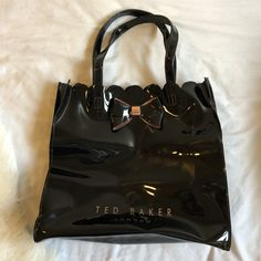 2920c69776 Great condition comes with - Depop. See more. Genuine black Ted Baker  London bag