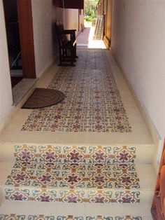 Cement Tile - Runner