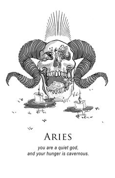 shitty horoscopes book vii: magick (aries)