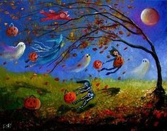 A Blustery Halloween