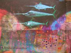 painting shordfish