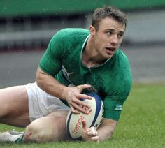 Tommy Bowe - Irish Rugby Hunk!