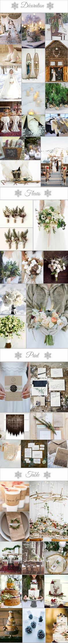 Inspiration winter party .  Mademoiselle Caudine