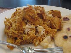 Chicken biryani recipe in hindi with captions in english indian chicken biryani adapted from indian food forever forumfinder Choice Image