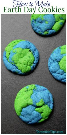 Earth Day Cookies – Tammilee Tips