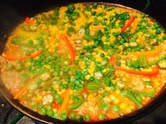 Vegan Paella Recipe! Raw till 4 recipe, Engine 2, McDougall Approved!