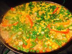 Vegan Paella Recipe! Raw till 4 recipe, Engine 2, McDougall Approved!