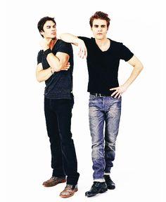 Stefan and Damon - Vampire Diaries