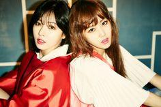 4Minute 4Minute World: 5th. Mini Album (2014.03.17) 4Minute's Hyun Ah and Ga Yoon