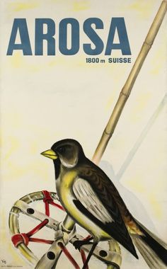 Alex W. Diggelmann, Arosa, 1935