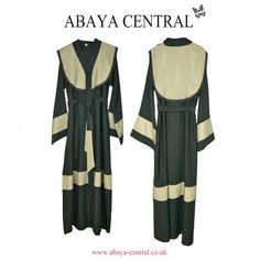 Gorgeous mesh details. Front & Back Abaya: cappuccino