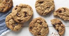 Classic chocolate chip cookies, made vegan.