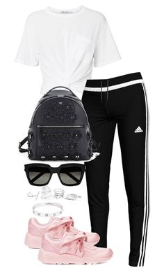 """Untitled #3825"" by theeuropeancloset ❤ liked on Polyvore featuring T By Alexander Wang, adidas, Puma, Fendi, Yves Saint Laurent, GUESS and Cartier"