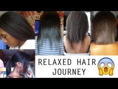 My Relaxed Hair Journey - Natural, Relaxed, Setbacks, Mini Chop, New Journey | IamGenie - YouTube