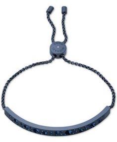 Michael Kors Pave Bar Slider Bracelet - Gold
