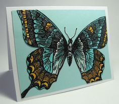 stamping up north: Stamping Up Swallowtail