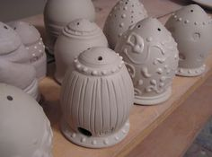 Fine Mess Pottery: Salt and Pepper Shakers
