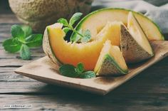 Cantaloupe, often known as muskmelon or mush melon, is one other water-rich fruit with 90% water content.