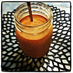 Healthy Reese's PB Cup Protein Smoothie