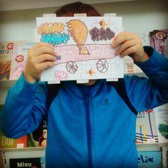 Hoy visitamos la expo de #JulioVerne con los niñxs del CP Ventura de la Paz Suárez de San Juan de la Arena. Y tras el recorrido creamos puzzles sobre la obra del autor Kid Books, San Juan, Author, Peace, Centre