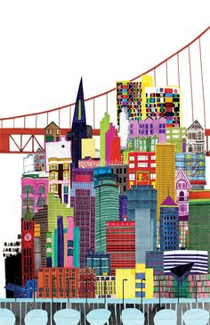 Jennifer Maravillas Illustration Portfolio – Famous landscape artist, and Cartography illustrator
