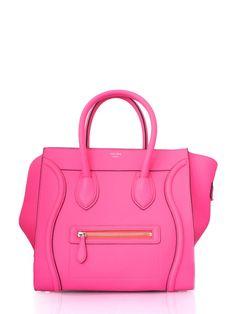 Celine Boston Bag in Neon Pink!