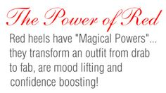 The power of red   amominredhighheels.com