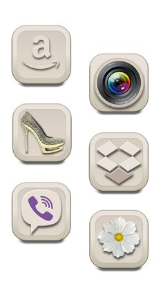 Beige icon pack - 37 png icons - € 0.50  256 x 256 72 x 72