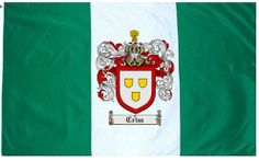 Crim Coat of Arms / Family Crest Flag