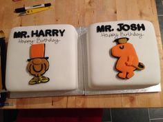 Mr Men birthday cakes