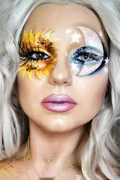 These are our favorite 2017 makeup ideas from Pinterest! You need to try these beautiful halloween makeup options!