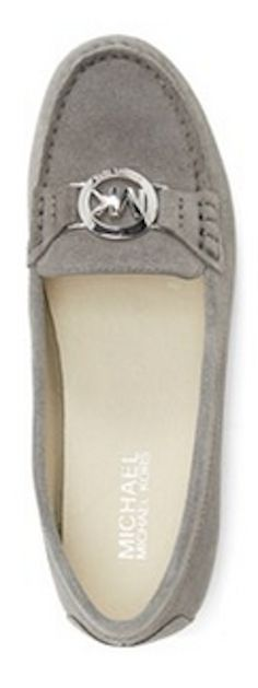 grey Michael Kors loafers