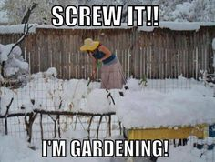 a gardener funny