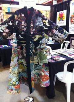 Emperor s garden at e e schenck fabric trend show kona bay booth