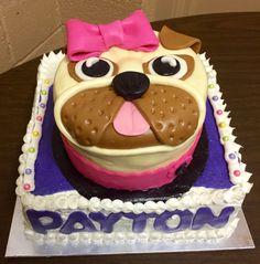 Pug cake!!