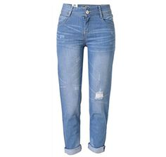 MK3002  High Rise Colombian Style Stretch Denim Butt Lift Skinny Jeans in Washed M Blue Size 11 >>> You can get additional details at the image link.